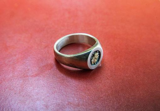 HYQS GoldDust Ring