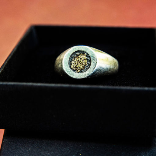 HYQS Gold Dust ring