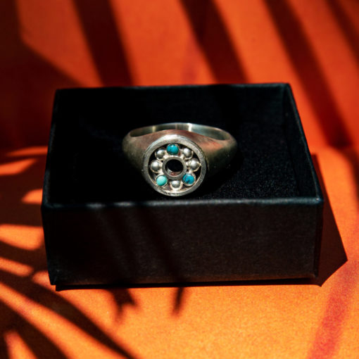 HYQS Bague roulement Turquoise